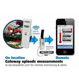 La Crosse Technology La Crosse Wireless Thermostat-Hygrometer Alert System