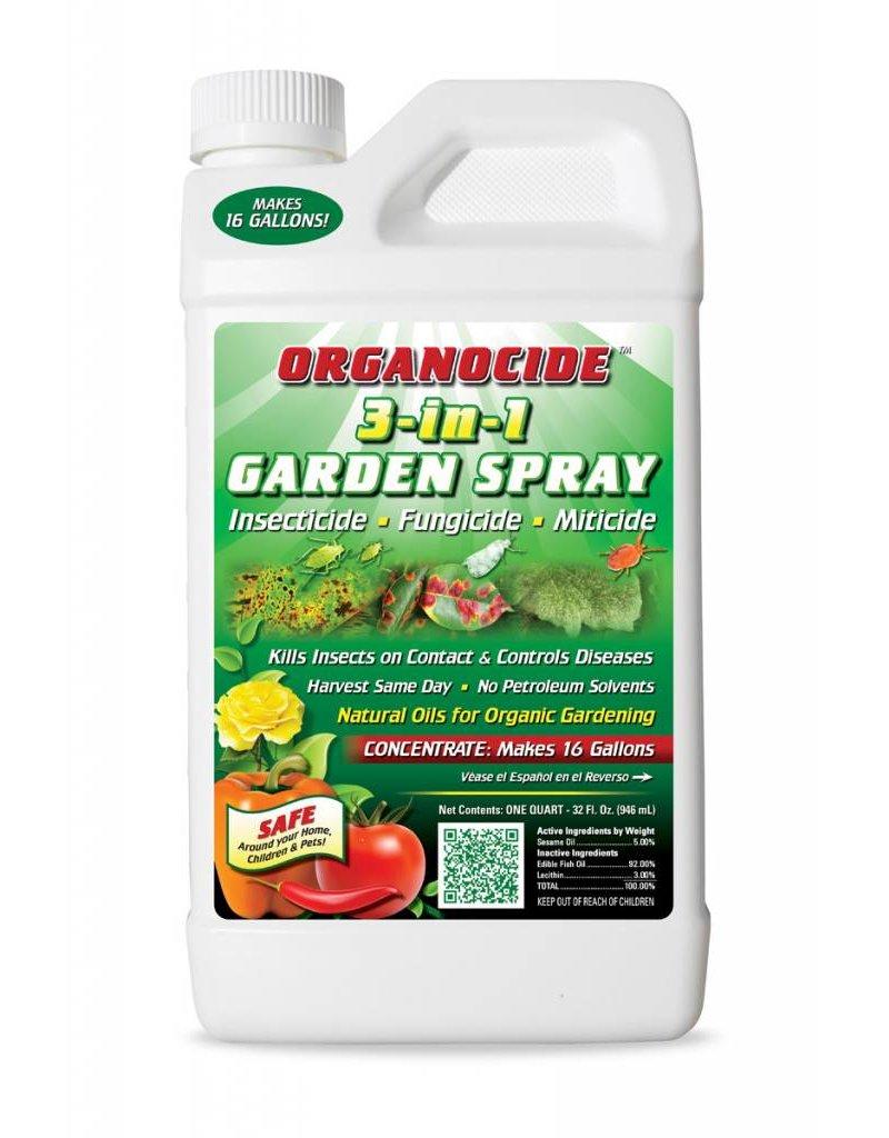 Organic Laboratories Organocide 3-In-1 Conc. Quart