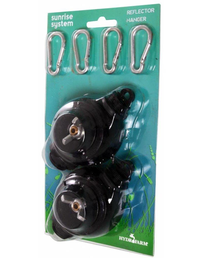 Hydrofarm Reflector Hangers YOYO System