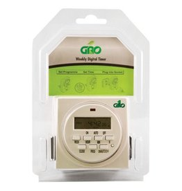 Gro1 115V Dual Outlet Digital Timer
