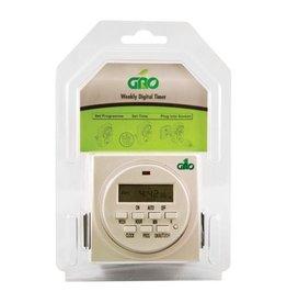 Gro1 115V Dual Outlet Digital Timer