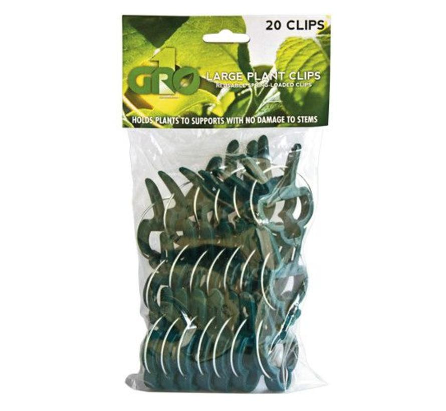 Gro1 Large Plant clips (20 pack)