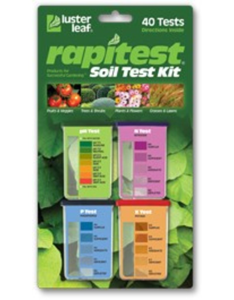 Luster Leaf Rapitest Soil Test pH N,P,K