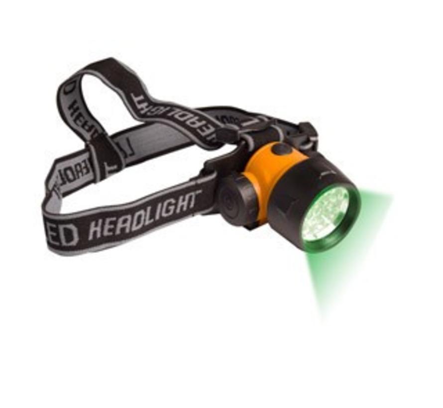 Green LED Head Light, 17 LED