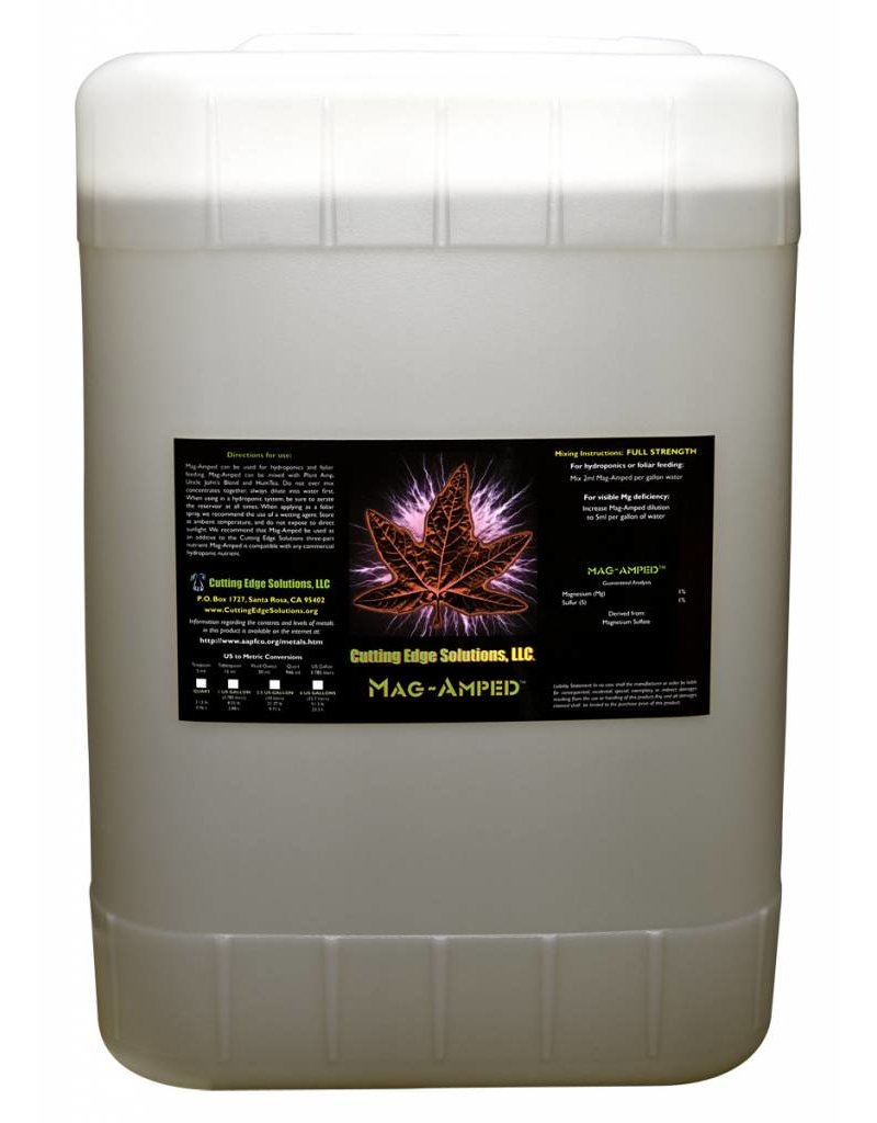 Cutting Edge Solutions Cutting Edge Mag-Amped 6 Gallon