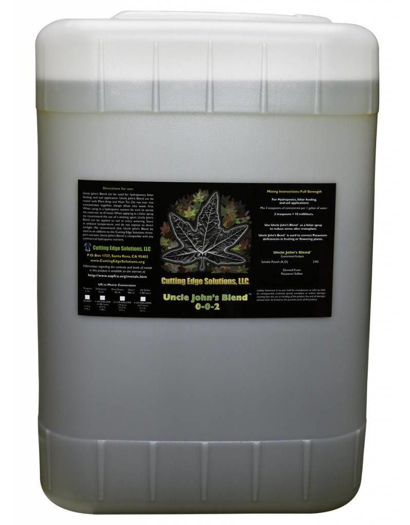 Cutting Edge Solutions Uncle John's Blend 6 Gallon