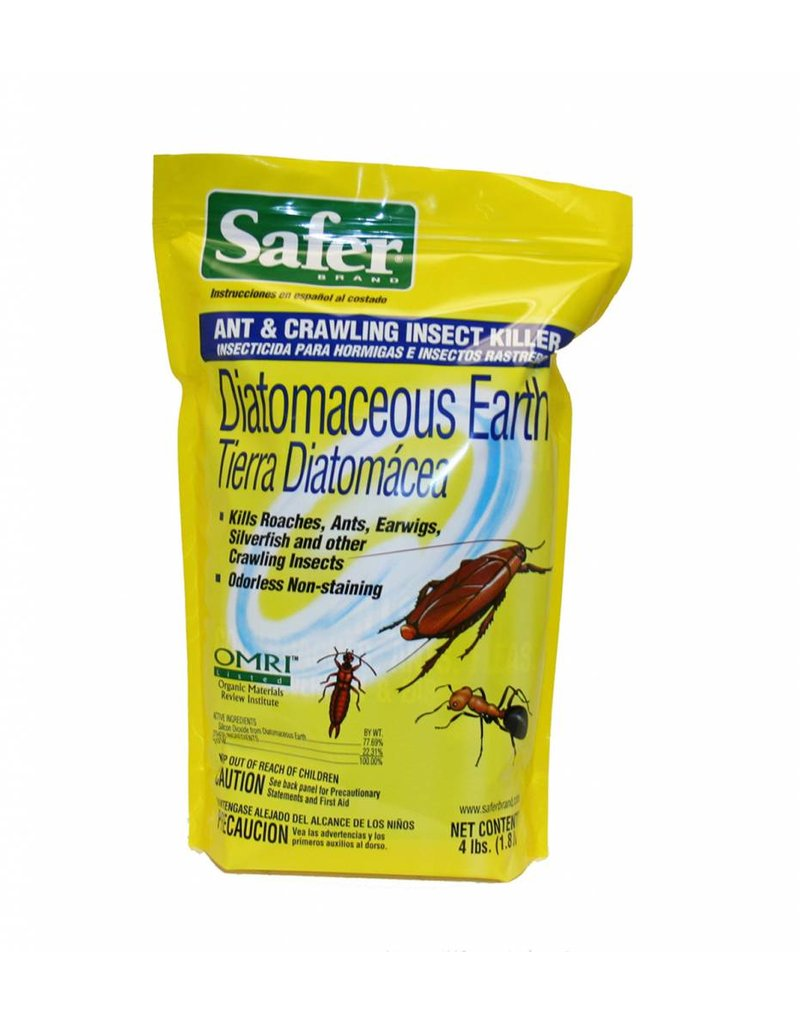 Safer Diatomaceous Earth Insect Killer