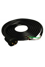 Hydrofarm Lamp Cord/ Male / 15'