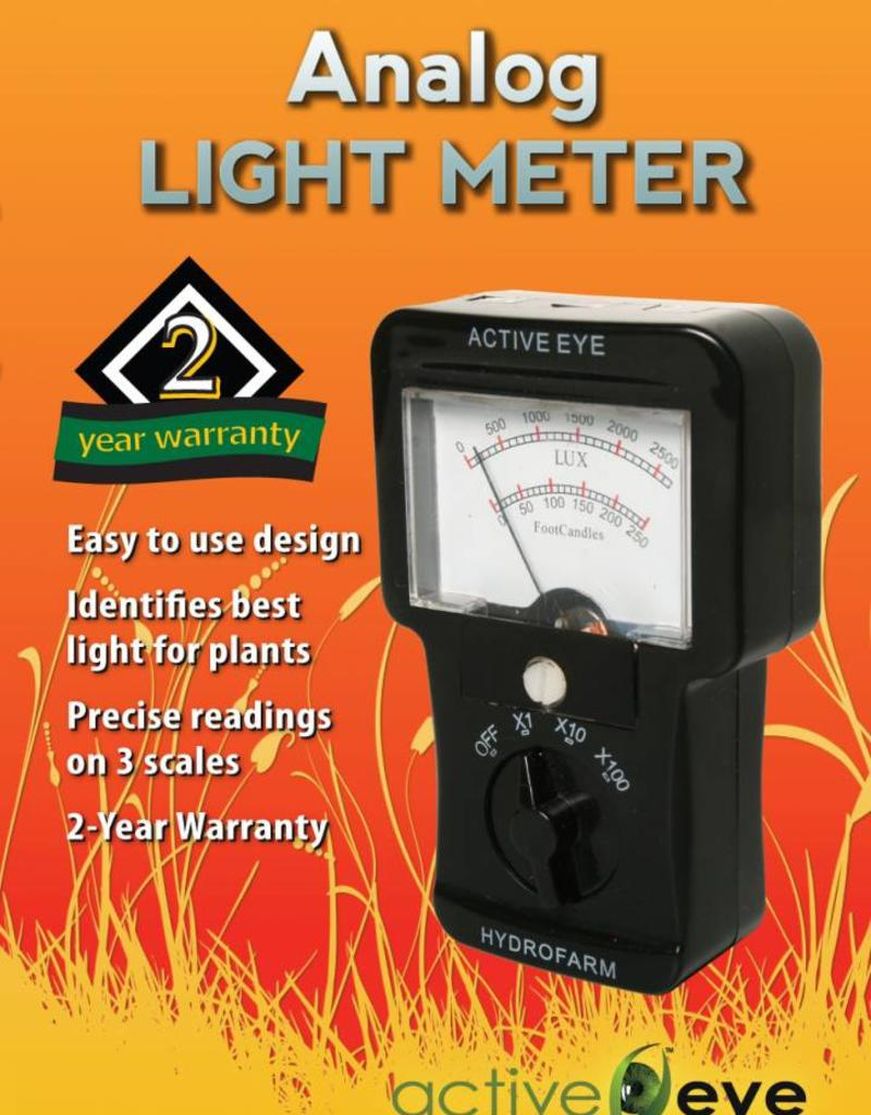 Active Eye Analog Light Meter (Footcandle