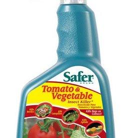 Safer Tomato & Vegetable Insect Killer RTU