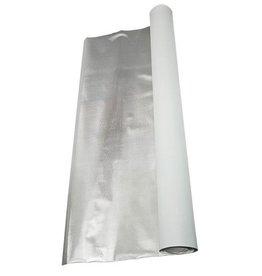 DL Wholesale Inc. 4' x 100' Diamond Foil on White