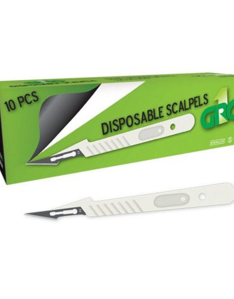Gro1 Disposable Scalpel Single