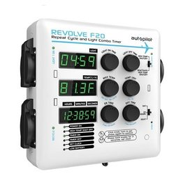 Hydrofarm Autopilot REVOLVE F20 Repeat Cycle and Light Combo Timer