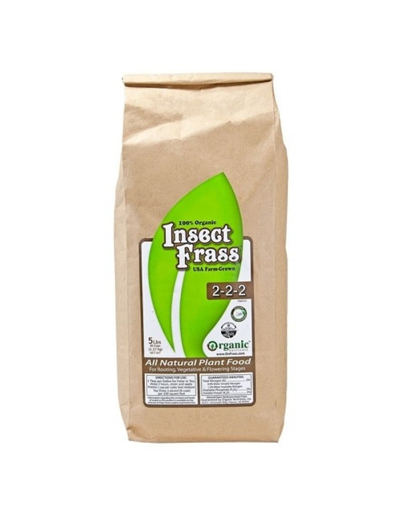 Organic Nutrients Organic Nutrients Insect Frass 5LB