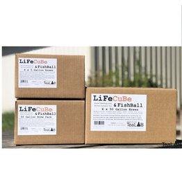 tealab Lifecube & Fish Combo 5 Gallon 4 Pack