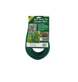 Geopot Soft Twist Tie Garden Wire 55ft