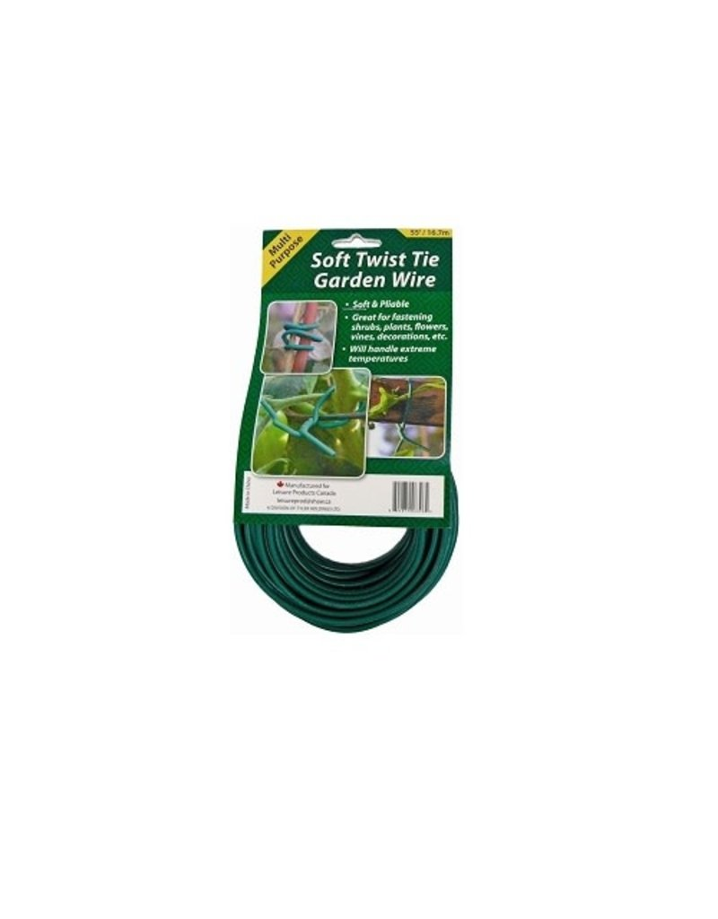 Geopot Soft Twist Tie Garden Wire 55ft