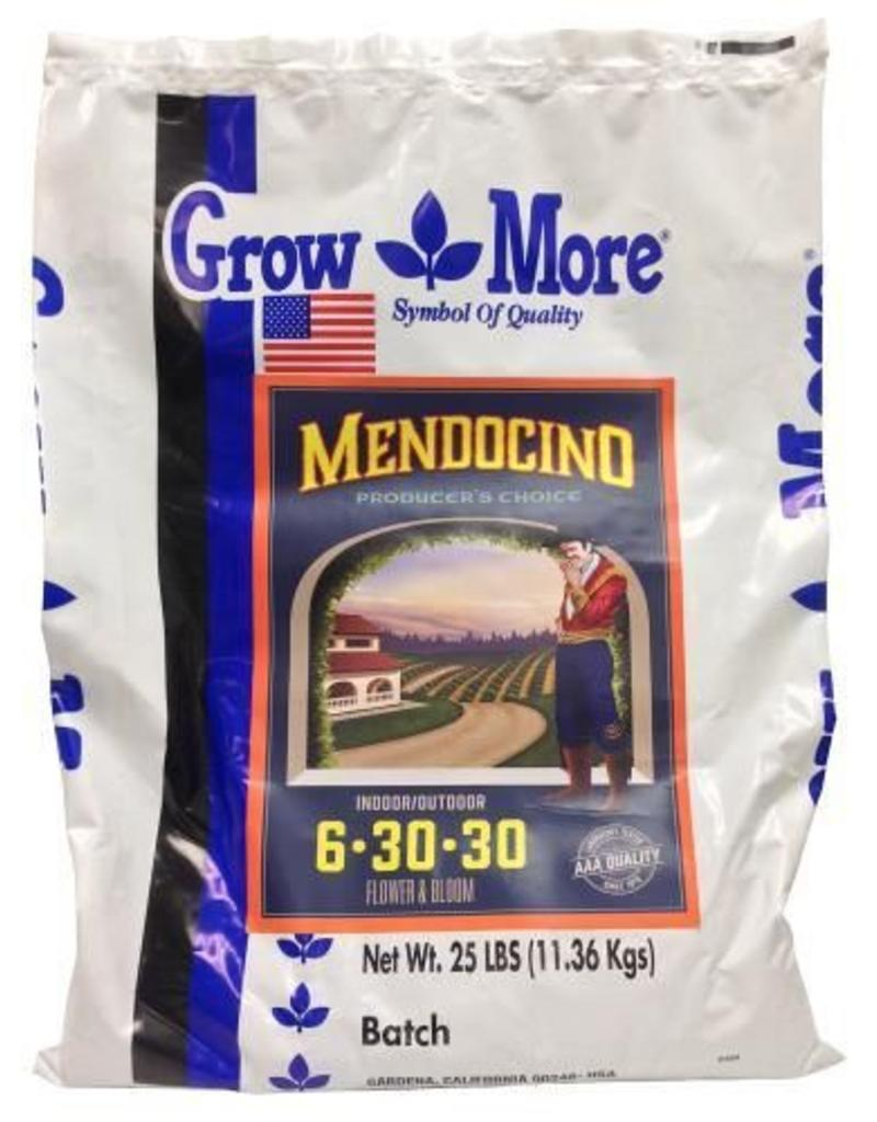 Grow More Grow More Mendocino Flower & Bloom (6-30-30) 25LB