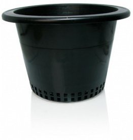 "Hydrofarm 10"" Pot w/ Mesh Bottom single"