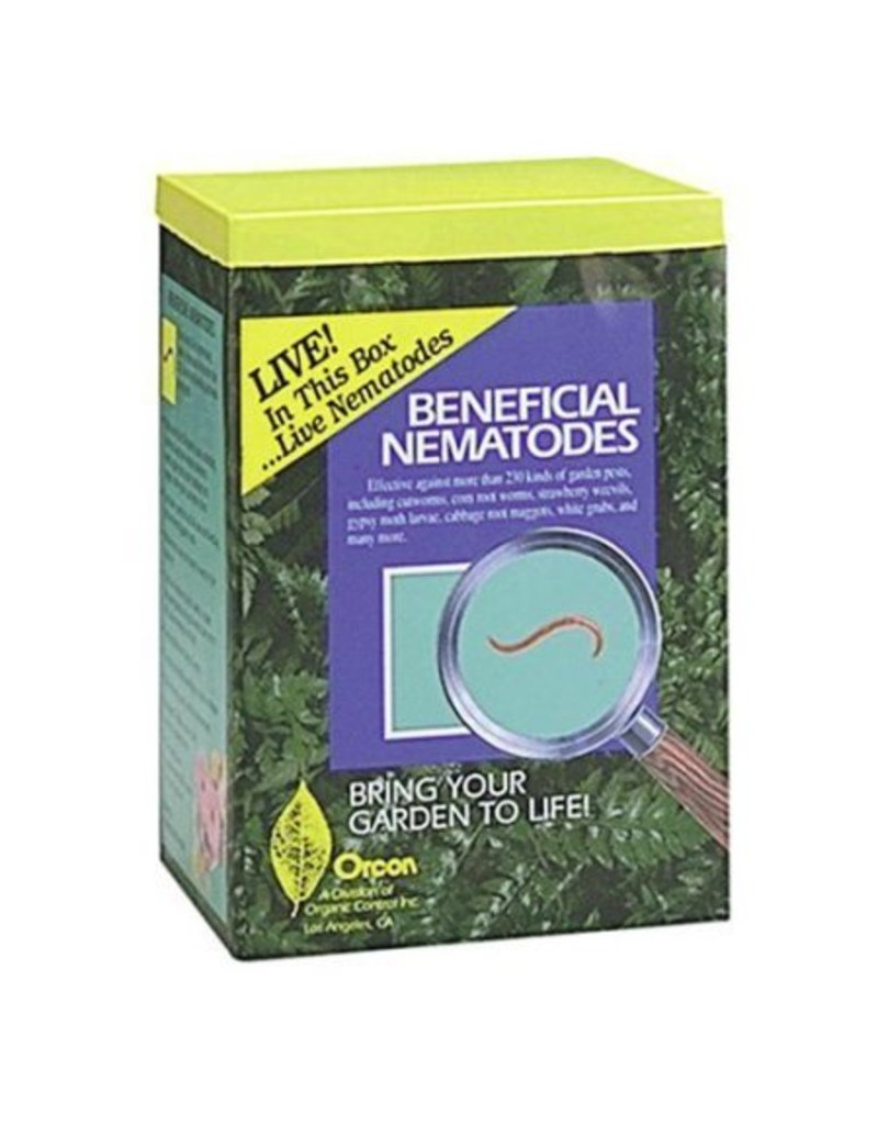 Organic Control Orcon Beneficial Nematodes Mail-Back single