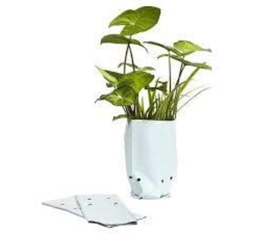Pot Grow Bag White