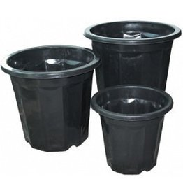 Hydrofarm Black Plastic Planter 7 Quart single