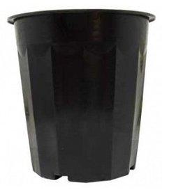 Hydrofarm Plastic Planter 16qt Black single