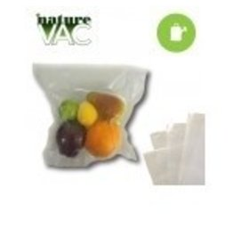 "NatureVak 11"" x24"" Precut Vacuum Seal Bags All Clear - 50pack"