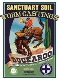 Mission Fertilizer Worm Castings Buckaroo 30lb