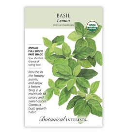 Botanical Interests Basil Lemon Org