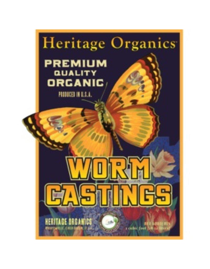 RASA Heritage Organics Earthworm castings Yard (20 yard Min)