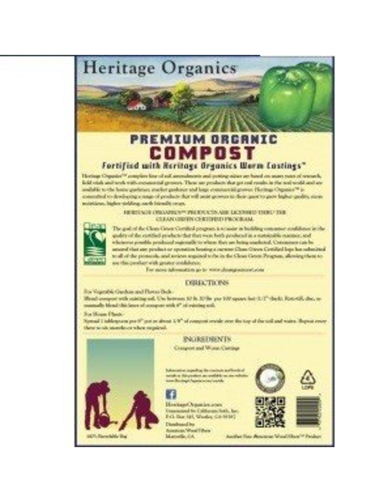 Heritage Organics Heritage Organic Compost (20 yard Min)