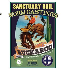 Sanctuary Soil Buckaroo Worm Castings (20 yard Min)