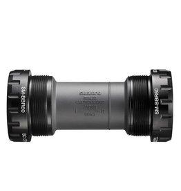 Shimano Shimano, Bottom Bracket, SM-BBR60, Hollowtech II, BB Shell: 68mm, Axle: 24mm, Steel, Grey