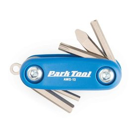 Park Tool Park Tool, AWS-13, Micro Folding Hex and Torx Wrench Set