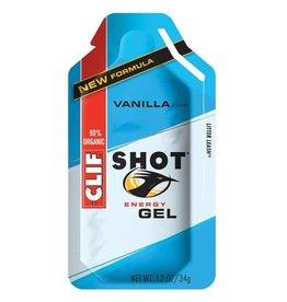 Clif Clif, Shot Gels, Vanilla, 24x34g