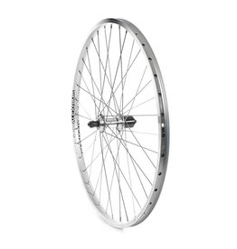 Wheels Manufacturing The Wheel Shop, Rear 26'' Wheel, Alex DM-18 Silver/FH-RM30 7 Silver, 36 Stainless Spokes, QR Axle For 7sp. Cassette