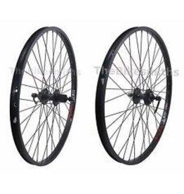 49N 49N, Alex DM18, 27.5/650B Rear Wheel, 135 x 9, 8/9 Speed, 6-Bolt Disc, Black