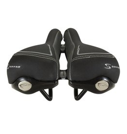 Serfas Serfas, Women's RX-922V Comfort Saddle, Lycra Cover