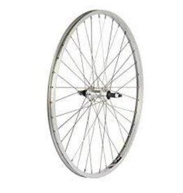 "49N 49N, Alex X101 24"" Front Wheel, 36 Hole, Steel, Silver"
