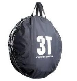3T Cycling 3T, 700C Wheel Bag, Black