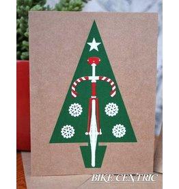 Bike Centric Bike Centric, Christmas Note Card