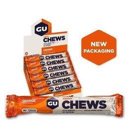 GU Energy Labs GU, Energy Chews, Orange, BOX of 18