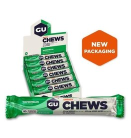 GU Energy Labs GU, Energy Chews, Watermelon, BOX of 18 x 54g