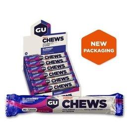 GU Energy Labs GU, Energy Chews, Blueberry Pomengranate, BOX of 18