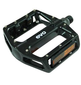 EVO EVO, Pedals, MX-6 Platform, Removable Pins, Black