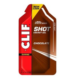 Clif Clif, Shot Gels, Chocolate, EACH