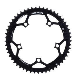 Rotor Rotor, Chainring, NoQ, Outer, BCD 110 x 5, 53T, Black