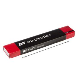 DT Swiss DT Swiss, Spokes, Competition Black, 294mm x 2.0/1.8mm, with Nipples, BOX of 72