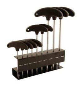 EVO EVO, T-Handle Torx wrench set, T10 - T15 - T20 - T25 - T27 - T30 - T40 - T50